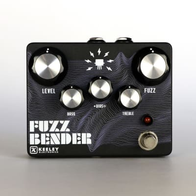 Keeley Fuzz Bender / Waves Ltd Edition 2020 Black