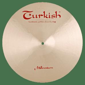 """Turkish Cymbals 16"""" Jazz Series Millennium Crash - MLN-C16"""