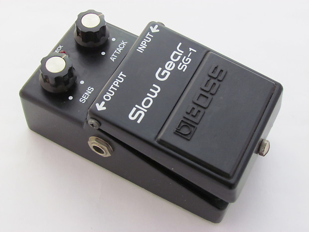 Boss SG-1 Slow Gear | Reverb Boss Cette Player Wiring Diagram on