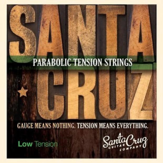 santa cruz parabolic low tension strings sound pure reverb. Black Bedroom Furniture Sets. Home Design Ideas