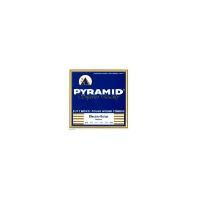 Pyramid Electric Pure Nickel Round Wound Strings 10-46