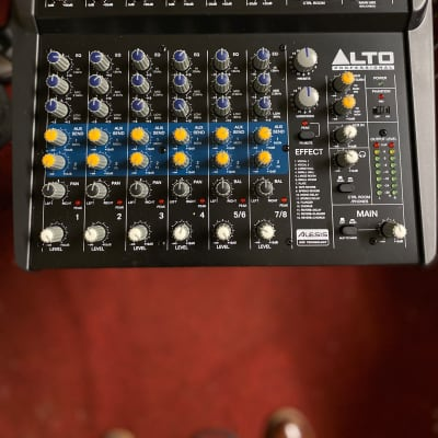 Alto Professional ZMX122FX 8-Channel 2-Bus Compact Mixer w/ Effects