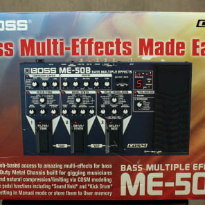 Boss  ME-50B Bass Multi Effects Unit for sale
