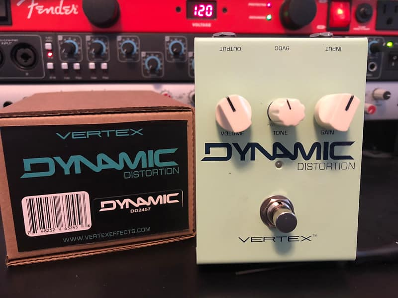 Vertex Dynamic Distortion Thin/Fat Mod Authorized Dealer | Reverb