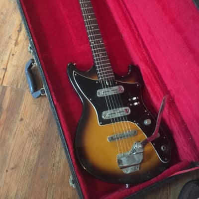 Rexina  Teisco 60s Sunburst for sale