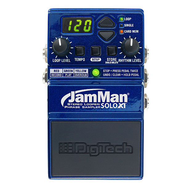 Digitech JamMan Solo XT Compact Stereo Looper/Phrase Sampler