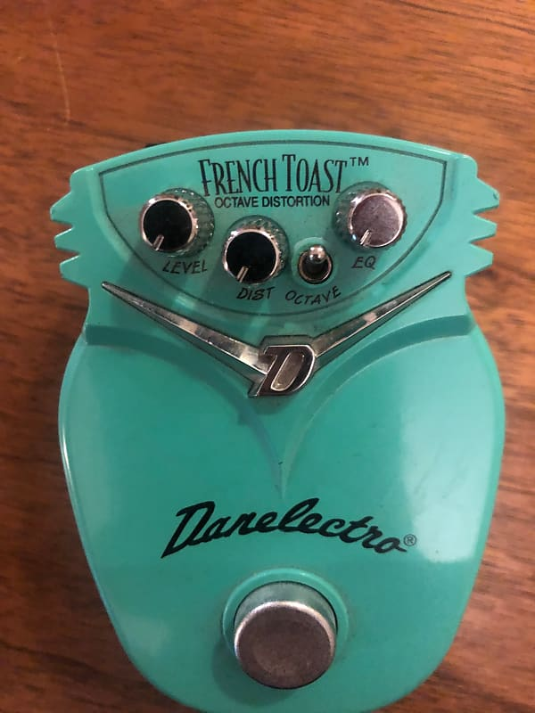 danelectro french toast octave fuzz aqua aidan 39 s gear reverb. Black Bedroom Furniture Sets. Home Design Ideas