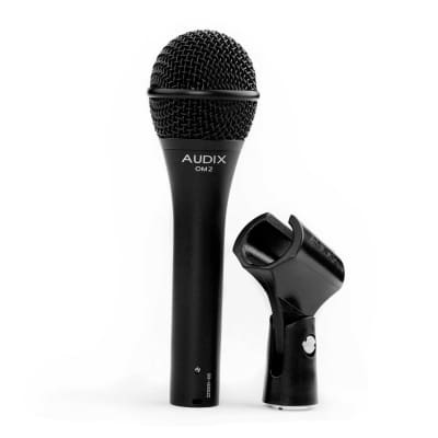 Audix Om2 Dynamic Vocal Microphone with gear bag