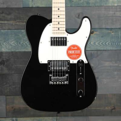 Fender Squier Contemporary Telecaster® HH, Maple Fingerboard, Black Metallic