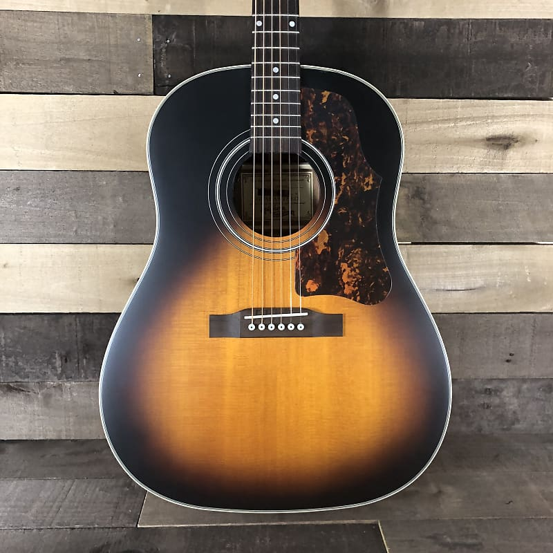 epiphone masterbilt aj 45me acoustic electric guitar reverb. Black Bedroom Furniture Sets. Home Design Ideas