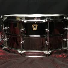 Ludwig  Black Beauty Snare Drum w/ Tube Lugs (6.5x14)