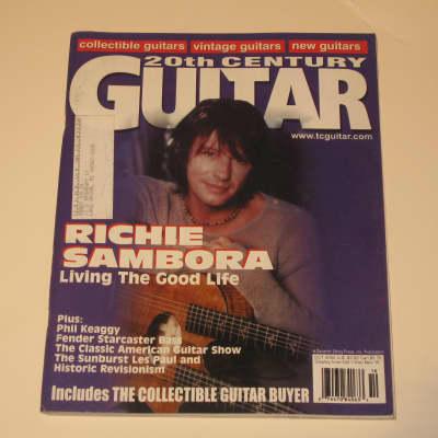 20th Century Guitar Magazine October 2000 Bon Jovi Richie Sambora Phil Keaggy Fender Starcaster Bass
