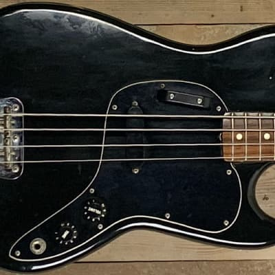 Fender Musicmaster Bass 1978 Black