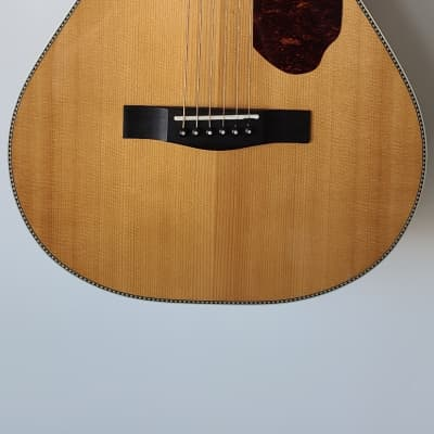 Fender Paramount Series PM-2 Deluxe Sitka Spruce/Indian Rosewood Parlor Natural