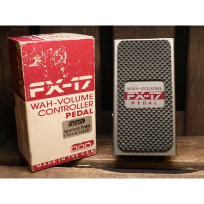 DOD FX-17 Wah Volume pedal (s/n 928049) for sale