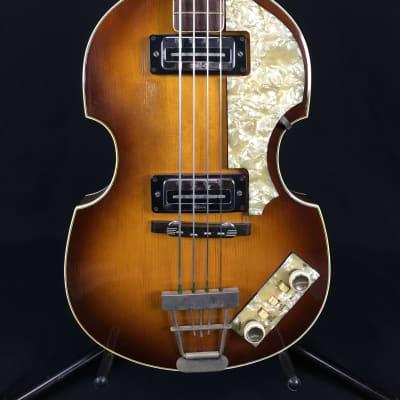 Hofner Bass 1967 - 500/1 - Violin / Beatle bass Sunburst Vintage w case