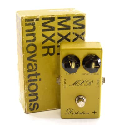 MXR MX-104 Script Distortion + 1973 - 1975