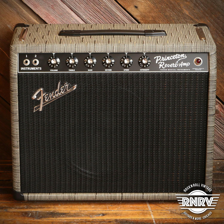"Fender '65 Princeton Reverb Reissue Chilewich 12"" Celestion Creamback"