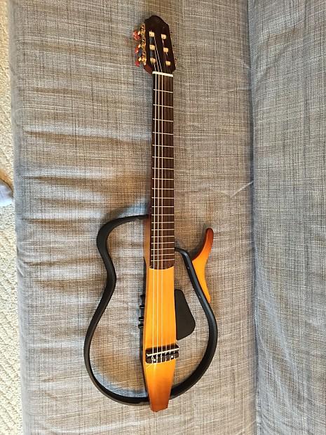 yamaha slg110n silent guitar nylon reverb. Black Bedroom Furniture Sets. Home Design Ideas