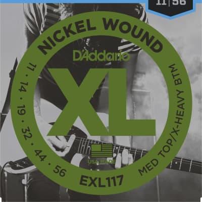 D'Addario EXL117 Electric Guitar Strings 11-56