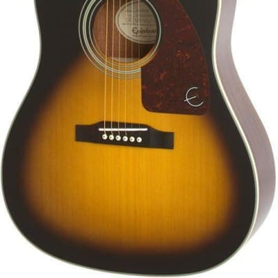 96eed79746d Epiphone AJ-210CE Acoustic Guitar - Vintage Sunburst | Reverb
