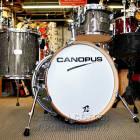 Canopus Yaiba 3pc Bop Kit Grey Sparkle Lacquer image