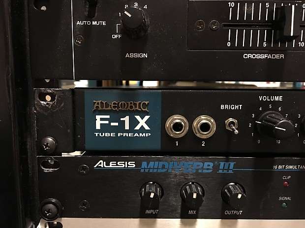 Alembic F 1x Tube Bass Preamp Wspare Tube And Free Shipping Reverb