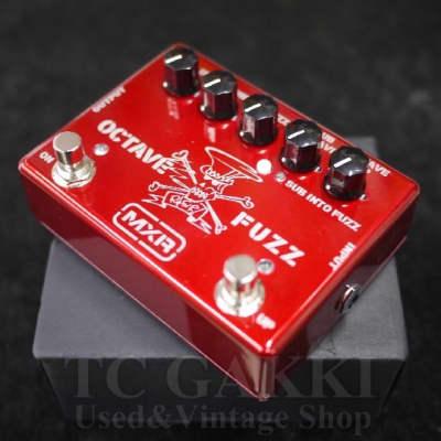 MXR SF 01R slash octave fuzz red