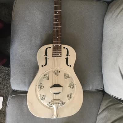 Regal Resonator dobro guitar with case for sale