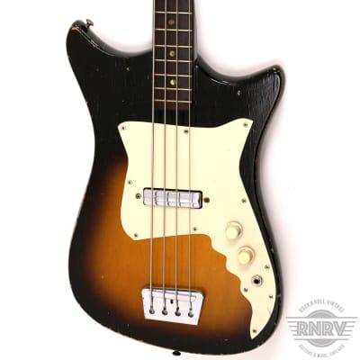 1960's Alamo Titan Bass Sunburst for sale
