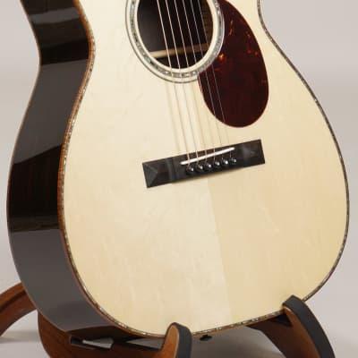 Santa Cruz Custom OO-42 Cutaway African Blackwood Bear Claw German Spruce for sale