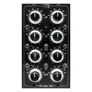 TK Audio TK-Lizer 500 Dual-Mono 500 Series Baxandall EQ Module with Mid/Side Processing