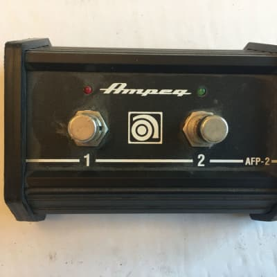 Ampeg AFP-2 2-Channel Selector Switcher Amp Amplifier Footswitch - No Cable