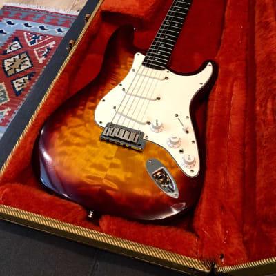 Fender Custom Shop Limited Edition 35th Anniversary Stratocaster Sunburst 1990 #29 of 500 for sale