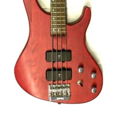 WASHBURN E-Bass Bantam XB-400 PWS red, TOP Optik, TOP Sound! NOS for sale