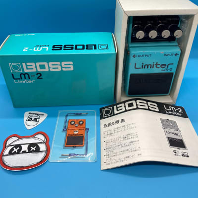 Boss LM-2 Limiter w/Original Box | Rare (Black Label) Made in Japan | Fast Shipping!