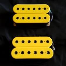 DiMarzio Titan Bridge And Super 2  Yellow