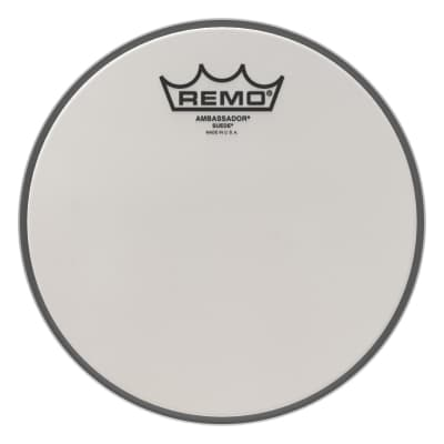 "Remo - 8"" Ambassador Suede Drumhead - BA-0808-00- (Please allow 6-8 weeks for delivery)"