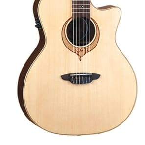 Luna Guitars Heartsong Series Nylon Acoustic-Electric Guitar, SONG NYLON for sale