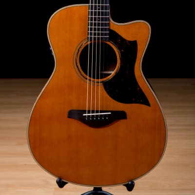 Yamaha AC3M Acoustic-Electric Guitar - Vintage Natural SN IQI260129