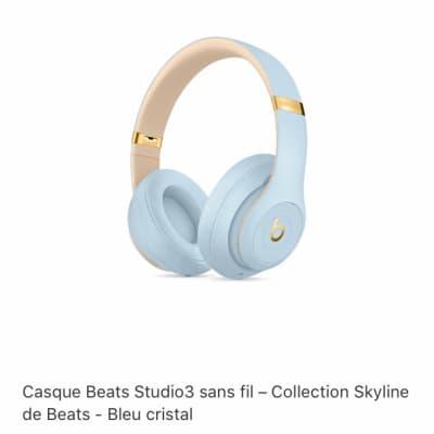 Beats by Dre Studio3 wireless 2019 Bleu cristal