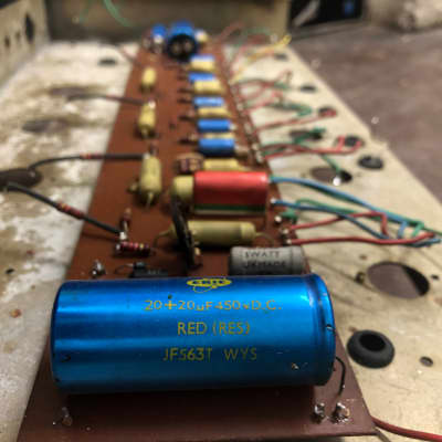 Carlsbro  100w PA circuit / tag board  1969 for sale