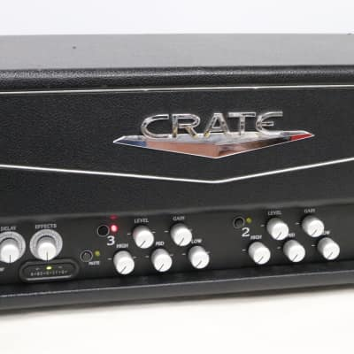 Crate Crate VTX350H 350 Watt Guitar Amplifier Head - Excellent - TESTED - Hard to Find 2000s Black for sale