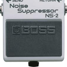 Boss NS-2 Noise Suppressor with Unique Noise Detection Circuit