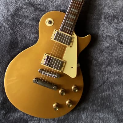 70' Vintage Maya Guitar, Made in Japan, Single Cut GoldTop copy - Very Rare - NEW Pice for sale