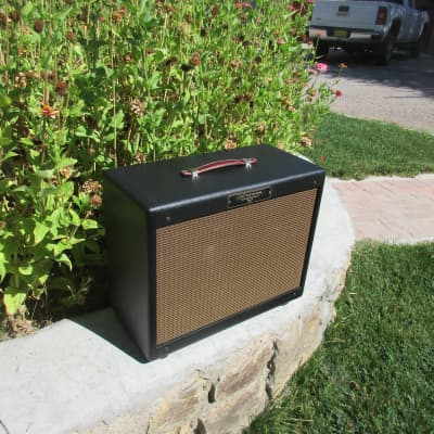 1x12 Open Back Cabinet With your choice of Weber Speaker and Cosmetics Solid Pine Carl's Custom Amp for sale