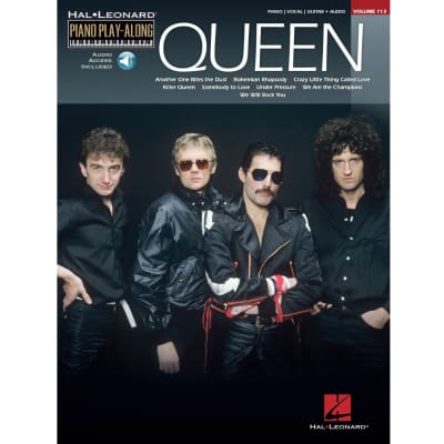 Queen - Piano Play-Along Series, Volume 113 (Piano/Vocal/Guitar Songbook)