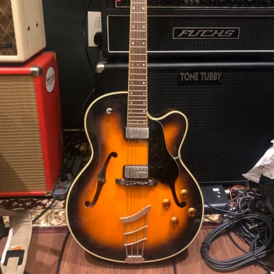 Hofner Vice President Archtop Guitar - Made in Germany w/ OHSC