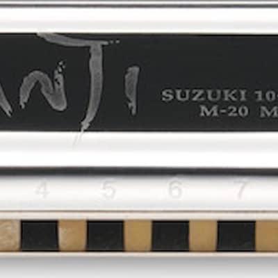 Suzuki M-20Nm-G Manji Natural Minor Harmonica Key of G