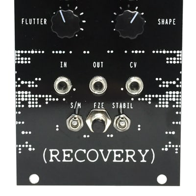 Recovery Cutting Room Floor CV Eurorack Glitch Loop Tape Delay Analog Modular Synth Eurorack Module